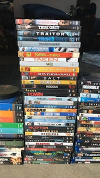 Tons of movies and tv shows. Negotiable price. The more you get the cheaper they will be.  Grand Rapids, 49503