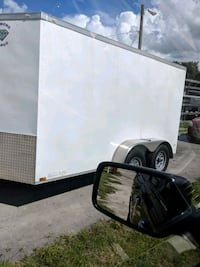 black and gray utility trailer Lake Wales, 33859