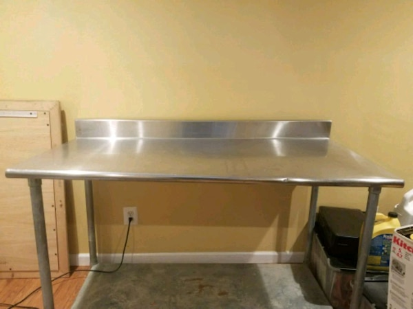 """Stainless Steel Work Table 72X30"""""""