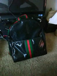 black and green leather backpack Fort Washington, 20744