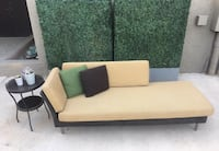 Beautiful Patio Chaise Sofa + Drink Table Las Vegas, 89118
