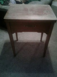 Sewing machine table only