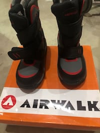 Brand new with box. air walk winter boots for boys size 13 Edmonton, T5T 4H4