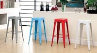 "Brand New 30"" Red Metal Bar Stool Barstools  Brea, 92821"