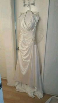 David's Bridal Wedding Dress with veil