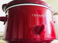 Slow cooker (almost new! Sparkling clean) Alexandria, 22304