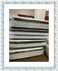 All sizes available Double Pillow Top mattress in plastic Elkridge, 21075