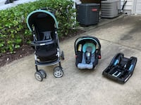 Graco travel set (stroller, car seat & base) Arlington, 22206