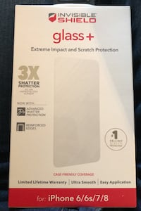 Invisible Shield screen protector for iphone 6/6s/7/8 Roswell, 30076