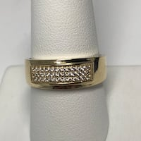 10K gold wedding band Mississauga, L5L