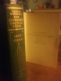 1931 Funk and wagnalls new standard encyclopedia Fairbanks, 99709