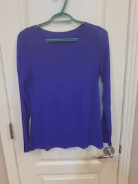 Blue long sleeve SAINTALBERT