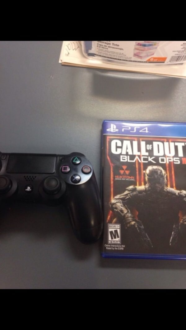Used Call Of Duty Black Ops 3 Ps4 Controller Bundle For Sale In