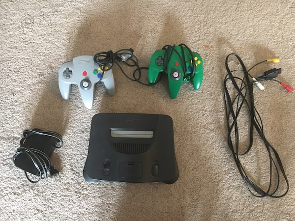 Nintendo 64 and games for sale/trade
