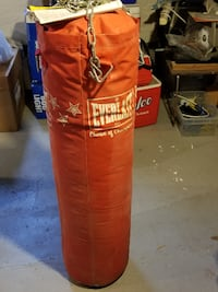 heavy bag and chains null
