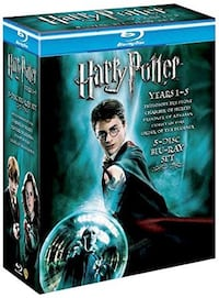 Harry Potter Years 1-5 Box Set [DVD] Beşiktaş, 34353