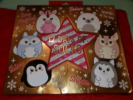 12 Days of Socks for girls