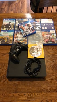 PS4 Slim With all the games included  Hilmar, 95324