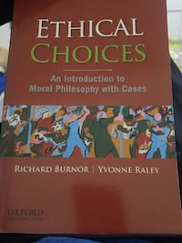 Ethical Choices book Mississauga, L5L