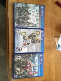 two Sony PS4 game cases null, T0H 3S0