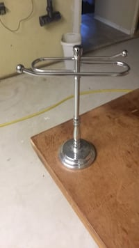 stainless steel base table lamp Burlington, L7P 4E4