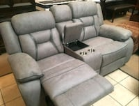 NEW SALE 2 PC Motion Sofá and Loveseat •$0 Down
