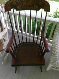brown wooden windsor rocking chair Mount Airy, 21771