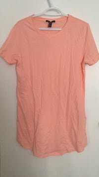 Forever 21 Coral t-shirt dress