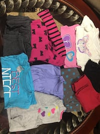 Girls lots of clothes in EUC Mississauga, L5W 1J7