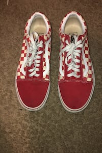 red checkerboard vans size 10 Silver Spring, 20905