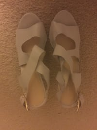 Pair of off white heels size 9 Mc Lean, 22102