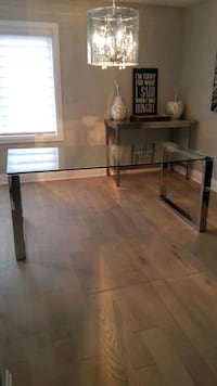 Urban Barn Glass dining table