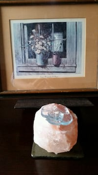 rustic bouquet by Napping ..in frame .painting photo