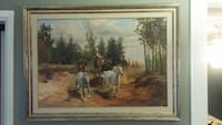 1970's Wild Horse Oil Painting  Burnaby, V5B 4A1