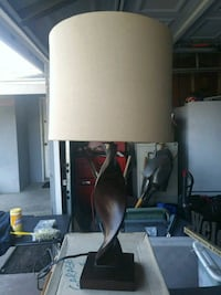 white and black table lamp Buena Park, 90620