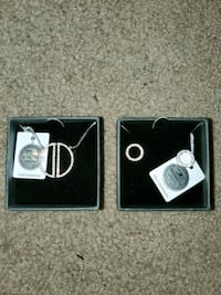 NIC & SYD necklace and earring set Reinholds, 17569