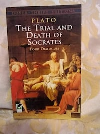 Plato The Trial and Death of Socrates book