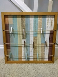Picture Frame with Close pins  Arlington