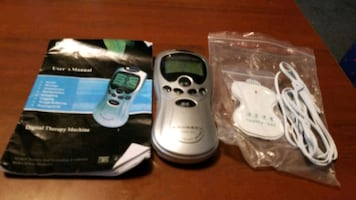 Tens unit  with 2 pads
