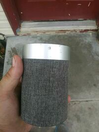 gray and white portable speaker Nampa, 83686