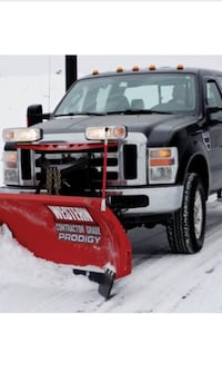 Snow plowing Brampton