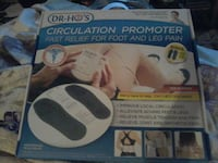 DR.HO'S CIRCULATION PROMOTER FAST RELIEF FOR FOOT AND LEG PAIN Kannapolis, 28083