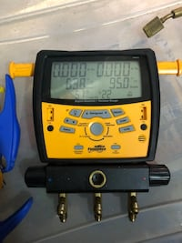 Black and yellow digital multimeter Annandale, 22003