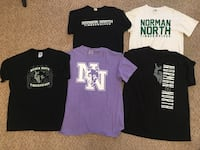 Norman North High School Size M-L Unisex T-Shirt Lot Oklahoma City, 73103