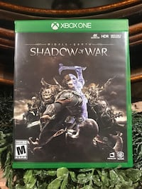 Xbox one shadow of war game  Toronto, M9C 3R7