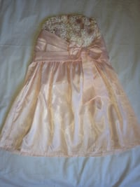 Robe rose claire