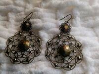 Antique bronze style earrings Oklahoma City, 73107