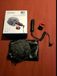 Boya Cardoid Mic Microphone for Cameras, Phones & Laptops Toronto, M1T 1A1