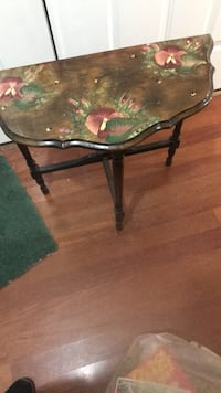 black wooden framed glass top coffee table Piscataway, 08854