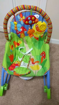 Fisher price rocker/vibration chair
